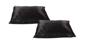 Beauty Pillow Antraciet set van 2