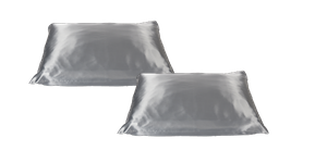 Beauty Pillow Zilver set van 2