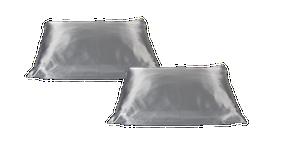 Beauty Pillow Zilver set van 2